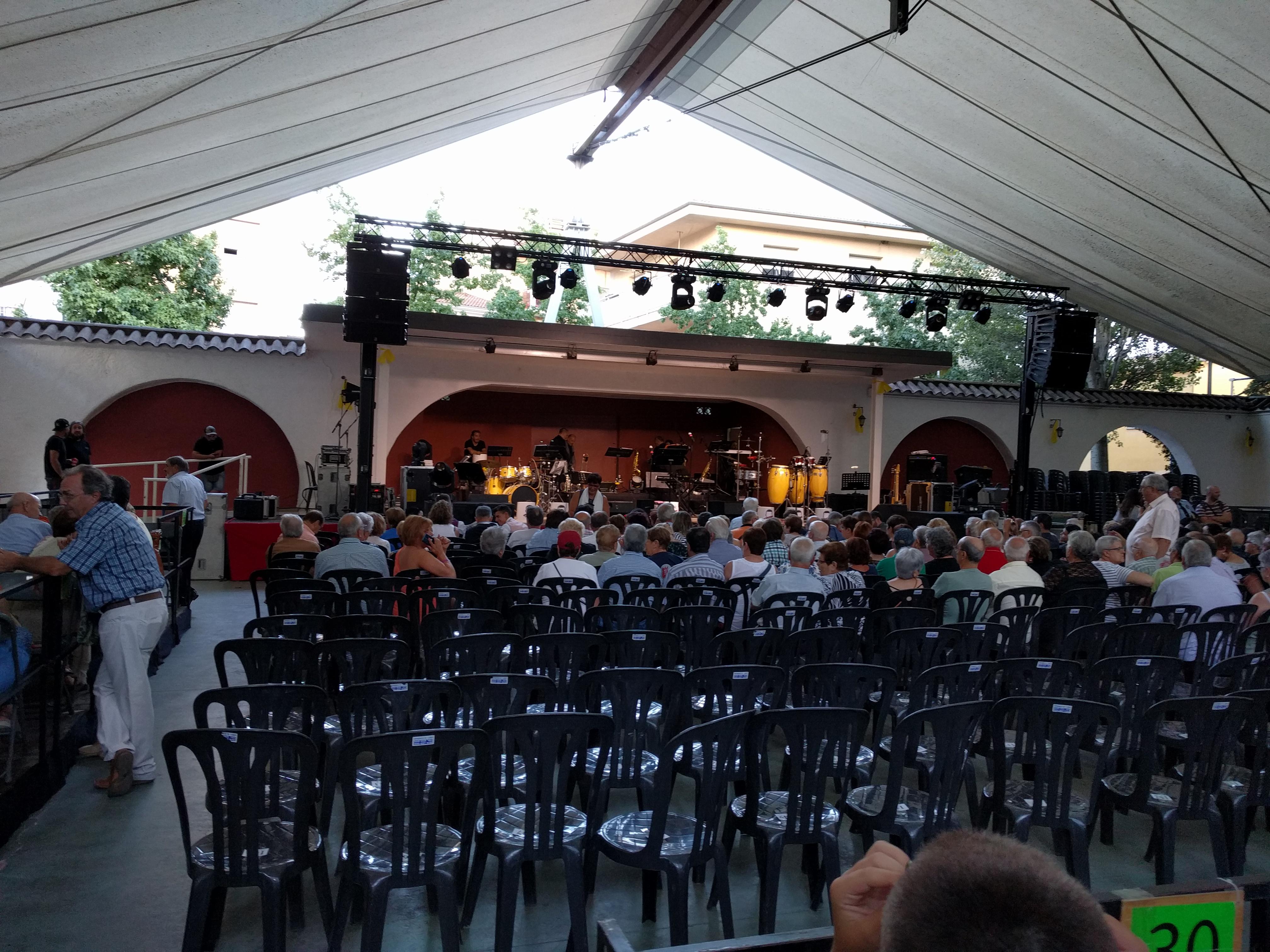 Així estava la Pista Jardí 45 minuts abans de començar el concert